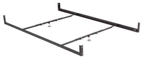 Leggett & Platt Bolt-On Drop Rail for Queen Bed Frame
