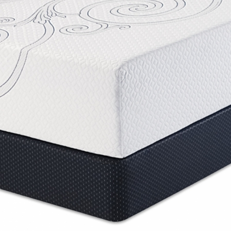 Serta Perfect Sleeper Luxury Memory Foam Appalachia with Free Adjustable Base