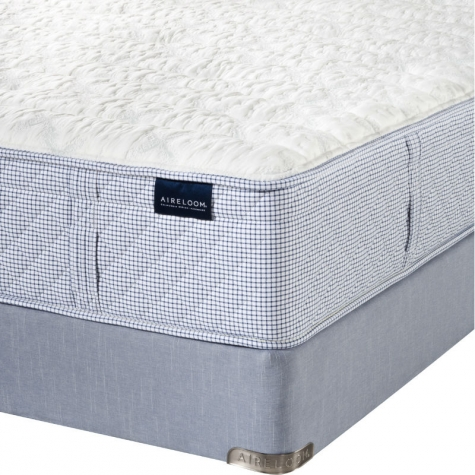 Aireloom Azure Ocean Firm Mattress with Rize Adjustable Base