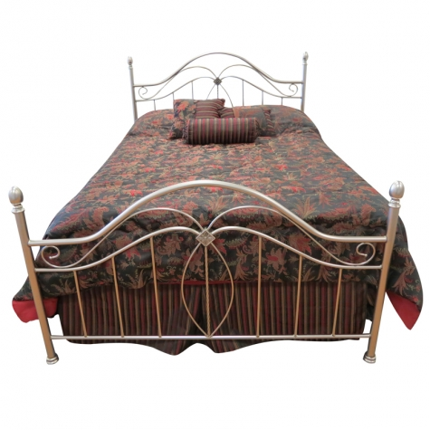 Como Bed in Antique Pewter by Until Daybreak