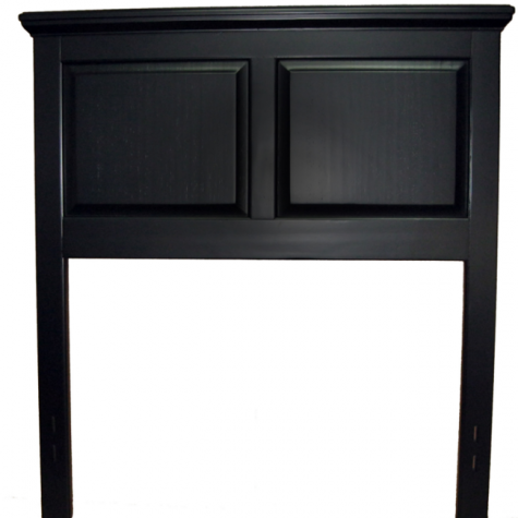 Cottage Style Headboard in Ebony by Mantua