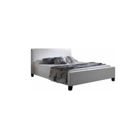 Euro Platform Bed in White by Fashion Bed