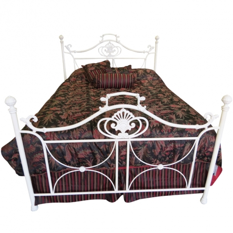 Hannah Bed with Antique Pearl Finish by Until Daybreak