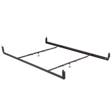Leggett & Platt Hook-On Drop Rail for Queen Bed Frame