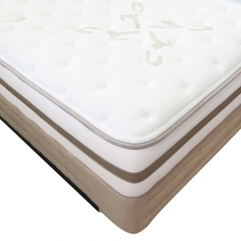 Northside Plush Comfort Innerspring Mattress by Simmons Beautyrest  - Corner