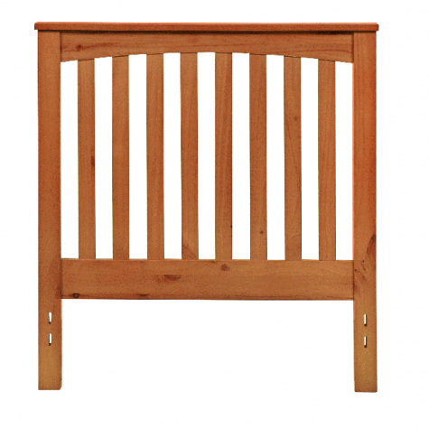 Rake Style Headboard in Golden Oak by Mantua