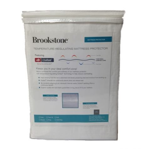 Brookstone Outlast Mattress Protector
