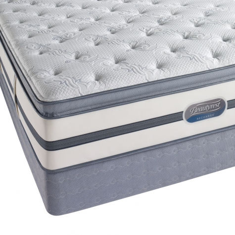 Solace Street Plush Pillowtop Innerspring Mattress from Simmons Beautyrest
