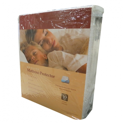 Terry Cloth Mattress Protector - In Case