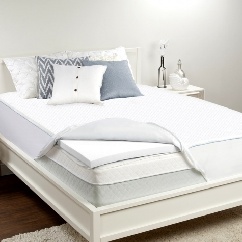 Sealy 2 Inch Memory Foam Mattress Topper