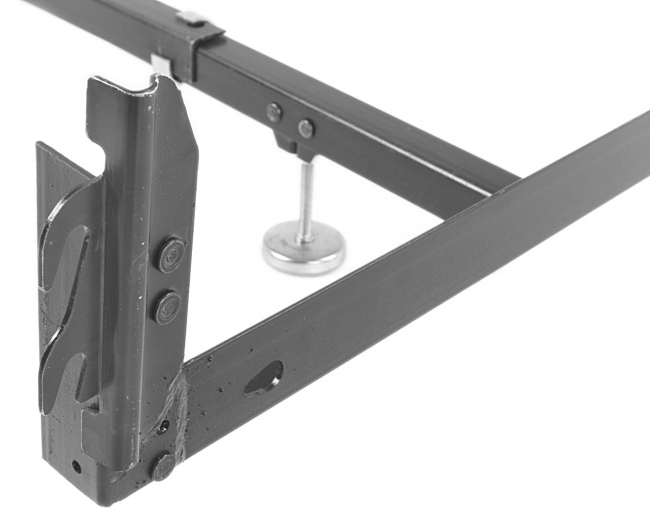 leggett platt hook on drop rail for queen bed frame hook on bracket
