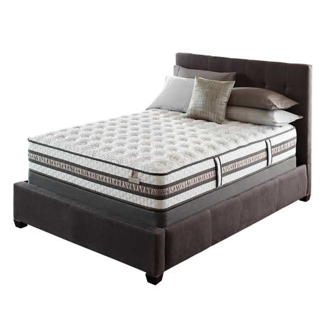 Iseries envoy plush mattress by serta for Serta iseries