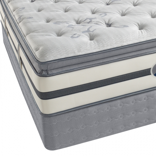 Matthews Beach Plush Pillowtop Innerspring Mattress by Simmons Beautyrest