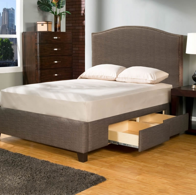 upholstered storage platform bed 2