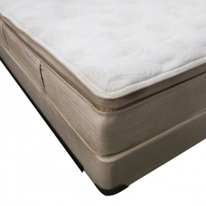 Timeless Bedding Plush Pillowtop Innerspring Mattress