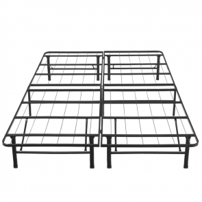 Black Platform Bed Frame by Boyd - Front