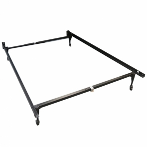 Twin/Full Deluxe Carpet Roller Bed Frame