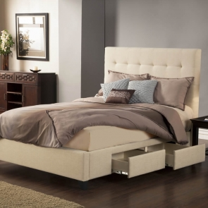 Manhattan 4-Drawer Platform Bed by Seahawk Designs