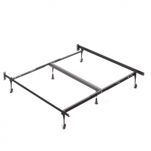 King Deluxe Carpet Roller Bed Frame