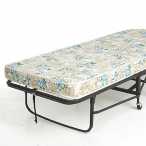 Rollaway Bed Frame with 39 Inch Mattress by Leggett & Platt