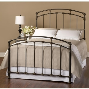 Dillon Bed in Bronze Finish by Wesley Allen