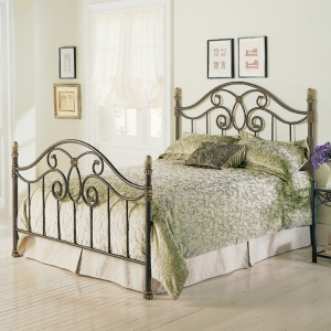 Dynasty Bed with Autumn Brown Finish