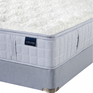 Indigo Summer Plush Mattress by Aireloom - Corner