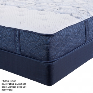 Serta Perfect Night Porterfield Firm Mattress with Free Somos Lifestyle Plus Adjustable Base