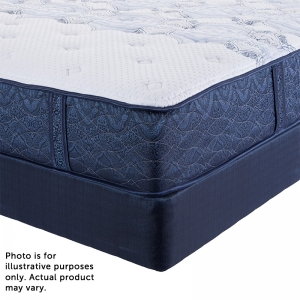 Serta Perfect Night Whitmarsh Plush Top Mattress with Free Somos Lifestyle Plus Adjustable Base