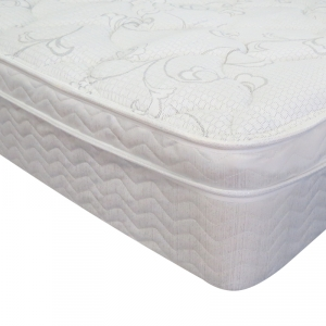 Princess Eurotop Mattress by Sleep & Health