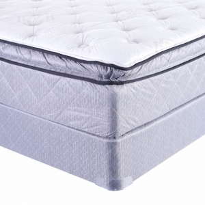 Whistlebloom Plush Euro Pillowtop Mattress by Sealy
