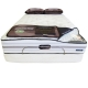 King River Luxury Firm Innerspring Mattress by Simmons Beautyrest - Front